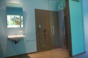 Barriere vrije badkamer met slaapkamer Oostakker